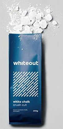 Whiteout White Chalk. Crushed Cut