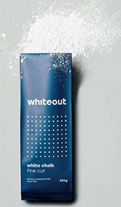 Whiteout White Chalk. Fine Cut