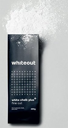 Whiteout White Chalk Plus. Fine Cut Plus+