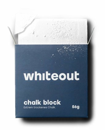 Whiteout White Chalk. Block