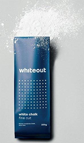 Whiteout White Chalk. Fine Cut