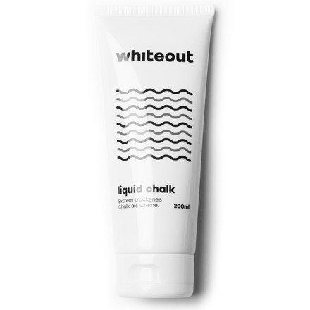 Whiteout - white chalk, liquid.